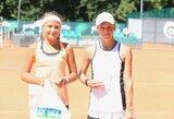 Lietuvės K.Bubelytė ir P.Paukštytė – Europos teniso asociacijos keturiolikmečių rinktinėje