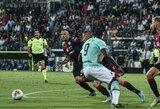 """R.Lukaku įvartis garantavo dar vieną """"Inter"""" pergalę Italijoje"""