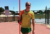 Dešimtkovininkas M.Adamonis kyla į viršų Europos jaunimo čempionate