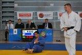 Traumą išsigydęs R.Nenartavičius Europos jaunimo dziudo taurės etape Kaune iškovojo bronzos medalį