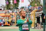 E.Valčiukas iškovojo Europos čempionato bronzą (papildyta)