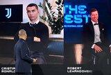 Neįtikėtina C.Ronaldo reakcija: neliko patenkintas geriausiojo rinkimų rezultatu