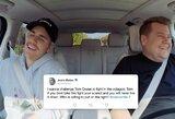 """Dar kartą apie MMA kovą su T.Cruisu prabilęs J.Bieberis: """"Tikrai nepralaimėčiau, aš esu šou verslo C.McGregoras"""""""