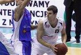 """""""Lokomotiv-Kuban"""" nušlavė naudingiausiai komandoje žaidusio D.Krestinino """"Turow"""""""