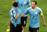 Pamatykite: po skaudaus pralaimėjimo ketvirtfinalyje sugniuždytas L.Suarezas nesutramdė ašarų