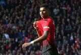 """""""Manchester United"""" triumfuoja: talentingasis M.Rashfordas pasirašė naują kontraktą"""