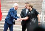 Lenkijos užsienio reikalų ministras vizitą Lietuvoje pradėjo nuo sveikinimų B.Vanagui su komanda