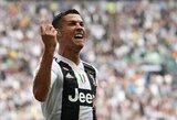 Pirmasis C.Ronaldo įvartis Italijoje: kaip į tai sureagavo internautai?
