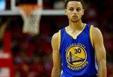 Artėjančiose rungtynėse S.Curry pasirodys aikštėje su apsaugine rankove