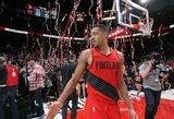 """C.J.McCollumas sukritikavo į """"Warriors"""" besižvalgančius krepšininkus"""