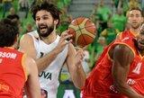 L.Kleiza: ketvirtfinaliui būsime pasiruošę ir tada demonstruosime savo geriausią krepšinį