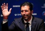 G.Buffonas atskleidė, jog atmetė pelningus pasiūlymus iš Anglijos