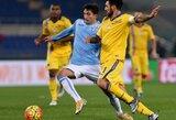 """""""Sampdoria"""" klubą nuo pralaimėjimo išgelbėjo baudos smūgis paskutinę mačo minutę"""