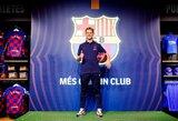 """Prie """"Barcelonos"""" prisijungęs F.De Jongas apie L.Messi: """"Mano dievaitis tapo komandos draugu"""""""