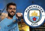 """B.Silva pasakė, kas jam padarė didžiausią įtaką pereinant į """"Manchester City"""""""