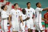 Tautų lyga: Prancūzija išvykoje minimaliu rezultatu įveikė portugalus