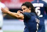 """E.Cavani pripažino, kad norėtų karjerą baigti """"Napoli"""" klube"""