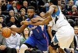"""""""Clippers"""" paliko epizodiškai rungtyniavęs krepšininkas"""