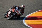 """Japonija to laukė 16 metų: T.Nakagami laimėjo """"MotoGP"""" kvalifikaciją"""