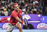 R.Federeris metus užbaigė pergale prieš A.Zverevą ir linksmai pakomentavo laimėtus stilingiausio vyro rinkimus