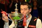 Pasaulio snukerio čempionato finale M.Selby nugalėjo R.O'Sullivaną