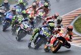 """Iš trasos išlėkęs M.Marquezas įspūdingose """"MotoGP"""" lenktynėse iškovojo pergalę puikiu taktiniu sprendimu"""