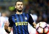 """""""Inter"""" gerbėjai apsimetė """"Monaco"""" aistruoliais ir ragino A.Candrevą palikti Italijos klubą"""