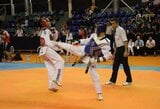 Europos jaunučių tekvondo čempionate M.Budriui iki bronzos pritrūko vienos pergalės