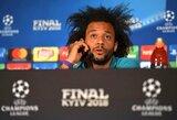 """Smūgis """"Real"""": traumą patyręs Marcelo praleis Madrido derbį"""