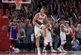 Viską griaunantis M.Leonardo dėjimas tapo NBA dienos epizodu