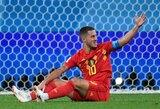 """E.Hazardas: """"Geriau pralaimėti su Belgija, nei laimėti veiksmingu prancūzišku stiliumi"""""""
