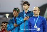 Penkiakovininkas J.Kinderis varžybose Katare iškovojo vicečempiono titulą
