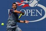 "Australijos teniso talentas patyrė fiasko ""US Open"" turnyre"