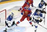 Kaune gimęs žaidėjas padėjo Rusijos ledo ritulio rinktinei įveikti suomius