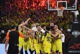 Eurolygos čempionams – penkiaženklė bauda