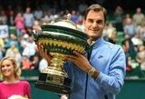 Maestro parodė klasę: R.Federeris finale sutriuškino vieną iš neparankiausių varžovų