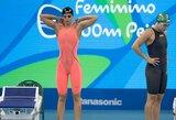 R.Meilutytė pateko į olimpiados finalą, J.Jefimova ir L.King toliau didina greitį