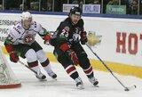 """KHL Rytų konferencijos pusfinaliuose pergales šventė """"Traktor"""" ir """"Avangard"""""""