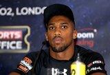 Boksininkas A.Joshua: nuo kalėjimo iki kovos dėl IBF sunkiasvorių čempiono titulo