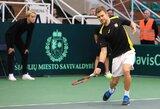 ATP reitinge R.Berankis išlaikė turėtą poziciją, visi kiti lietuviai šoktelėjo aukštyn