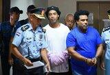 Pasaulio čempionas Ronaldinho liks už grotų Paragvajuje