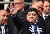 Nepatekęs į aukštesnę lygą, D.Maradona metė darbą Jungtiniuose Arabų Emyratuose