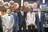 """""""Sveiko proto"""" prognozė: kaip atrodys pirmasis NBA naujokų biržos dešimtukas?"""