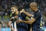 """""""Inter"""" klubas pirmasis šį sezoną paguldė ant menčių """"Juventus"""""""