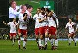 """C.Eriksenas pelnė """"hat-trick'ą"""", o Danija sutriuškino Airiją ir pateko į pasaulio čempionatą"""