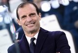 """M.Allegri pripažino, jog nesijaučia užtikrintas dėl savo ateities """"Juventus"""" klube"""