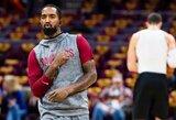 NBA gali nubausti apie mainus prakalbusį J.R.Smithą