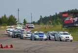 """Antrasis BaTCC lenktynių etapas: E.Globytės įnirtinga kova ir """"Rotoma Racing"""" triumfas"""