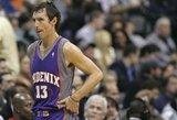 """S.Nashas: """"NBA krepšininkai bijodavo žaisti prieš Jordaną"""""""