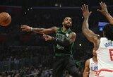 """""""Celtics"""" savo nesėkmingą seriją nutraukė prieš """"Clippers"""""""
